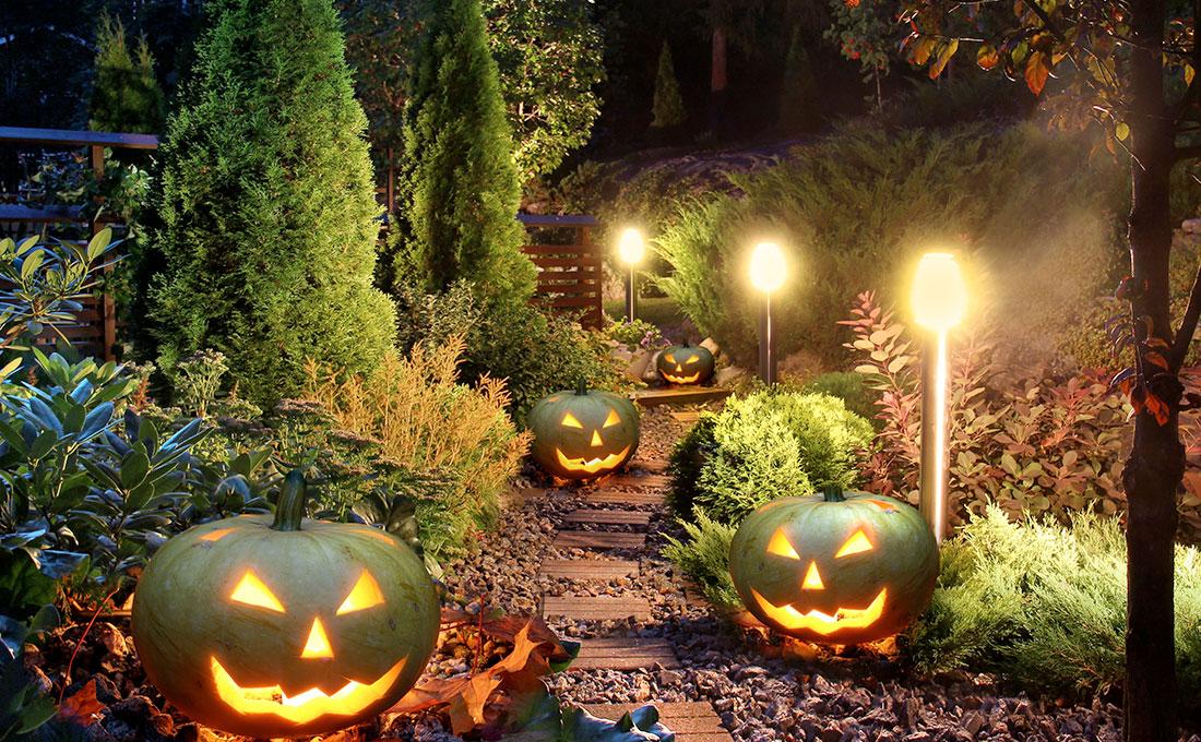 Come decorare il giardino per Halloween