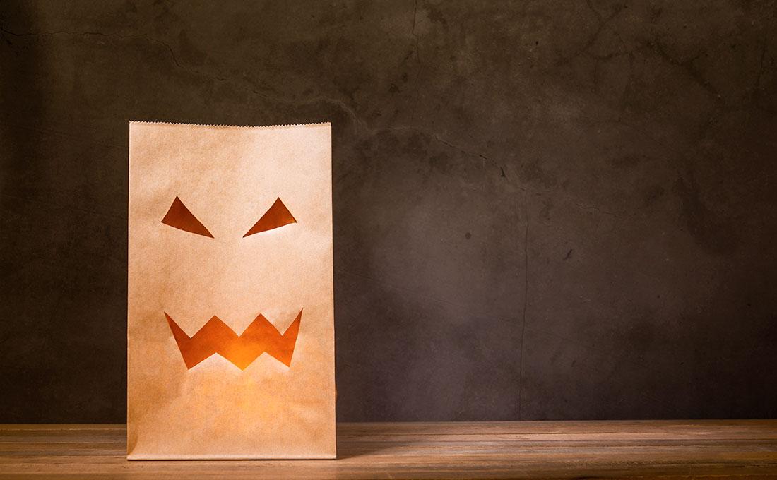 Sacchetti caramelle per bambini Halloween