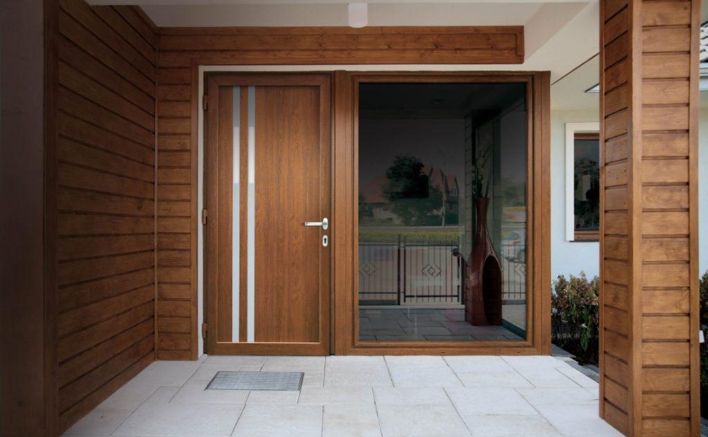 arredare con le porte in pvc Oknoplast - Cosmo, modello Froodite