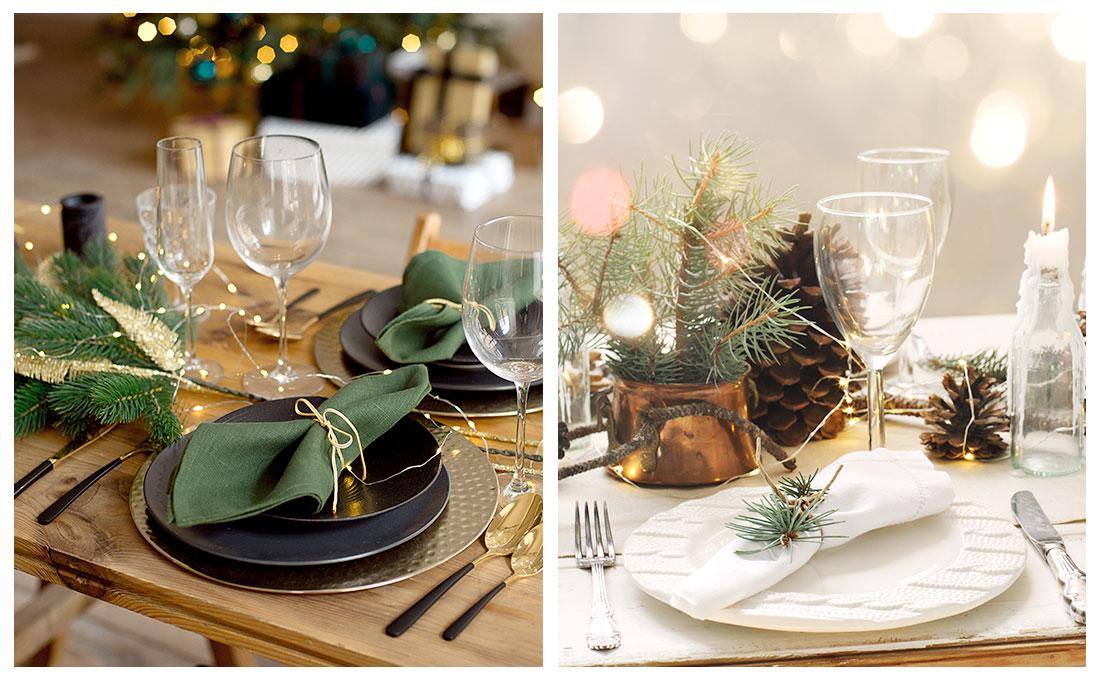 Idee per la tavola natalizia