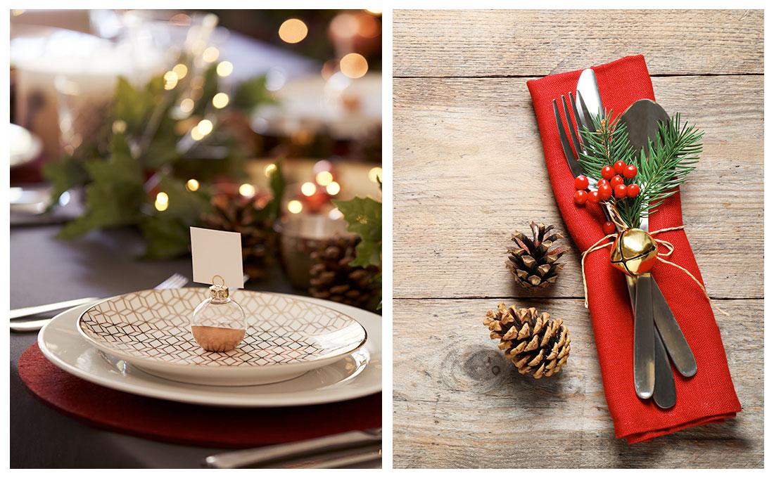 Idee creative per abbellire la tavola a Natale