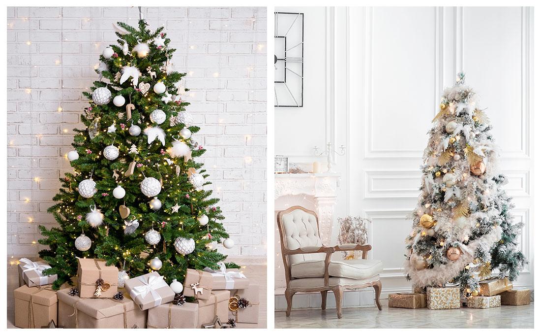Scegliere le decorazioni per l'albero di Natale