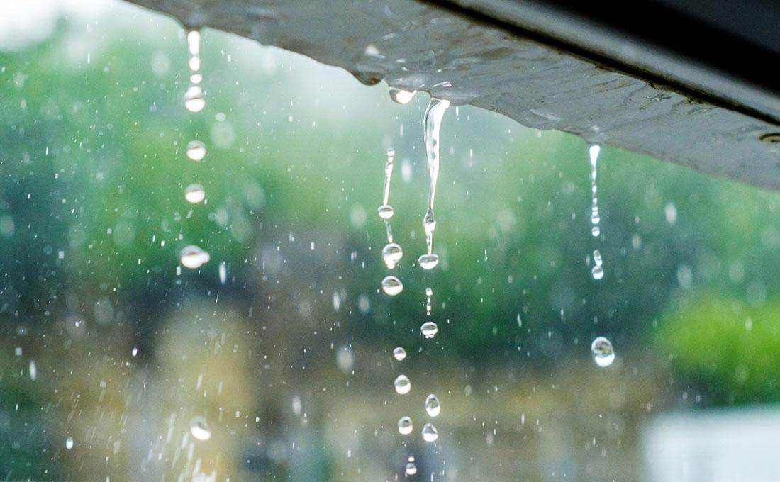 Utilizzare l'acqua piovana in casa per risparmiare