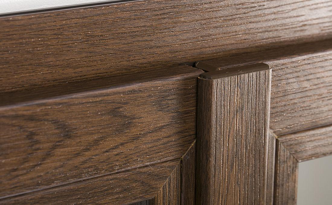 Finestre in pvc effetto legno