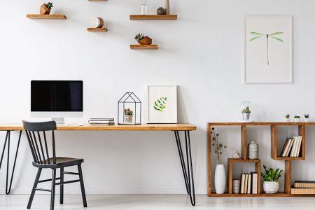 Organizzare lo spazio in casa per lo smart working