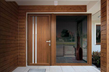 Caratteristiche delle porte d'ingresso in pvc