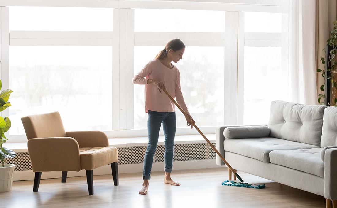 Pulire  eigienizzare bene la casa ai tempi del Coronavirus