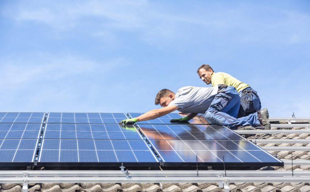 costruire casa ecologica e installare pannelli solari