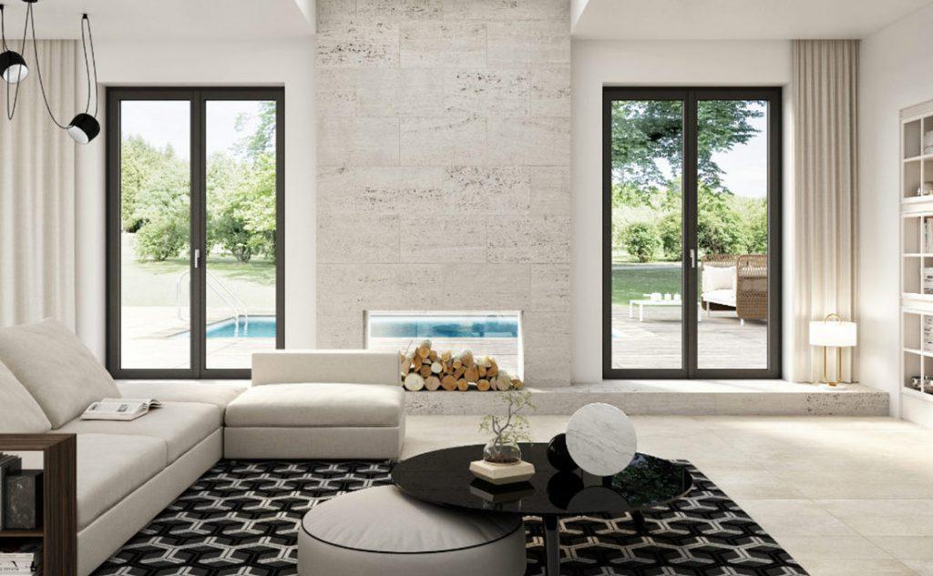 casa luminosa e confortevole con finestre in pvc Prolux Vitro