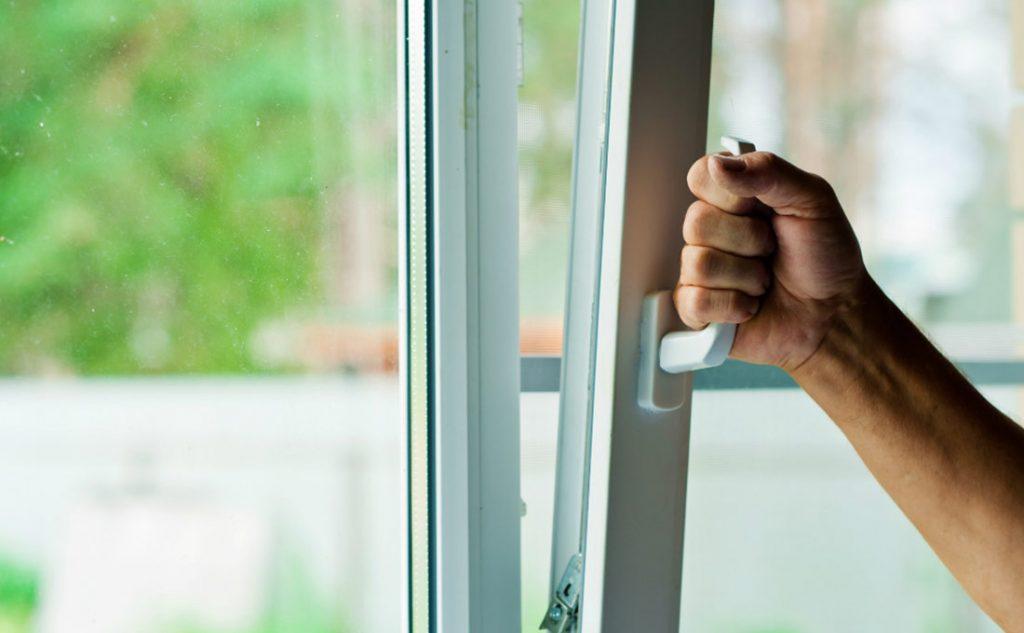 sicurezza delle finestre in pvc