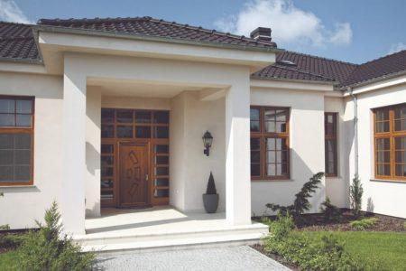 scegliere porte d'ingresso in pvc con vetro Oknoplast
