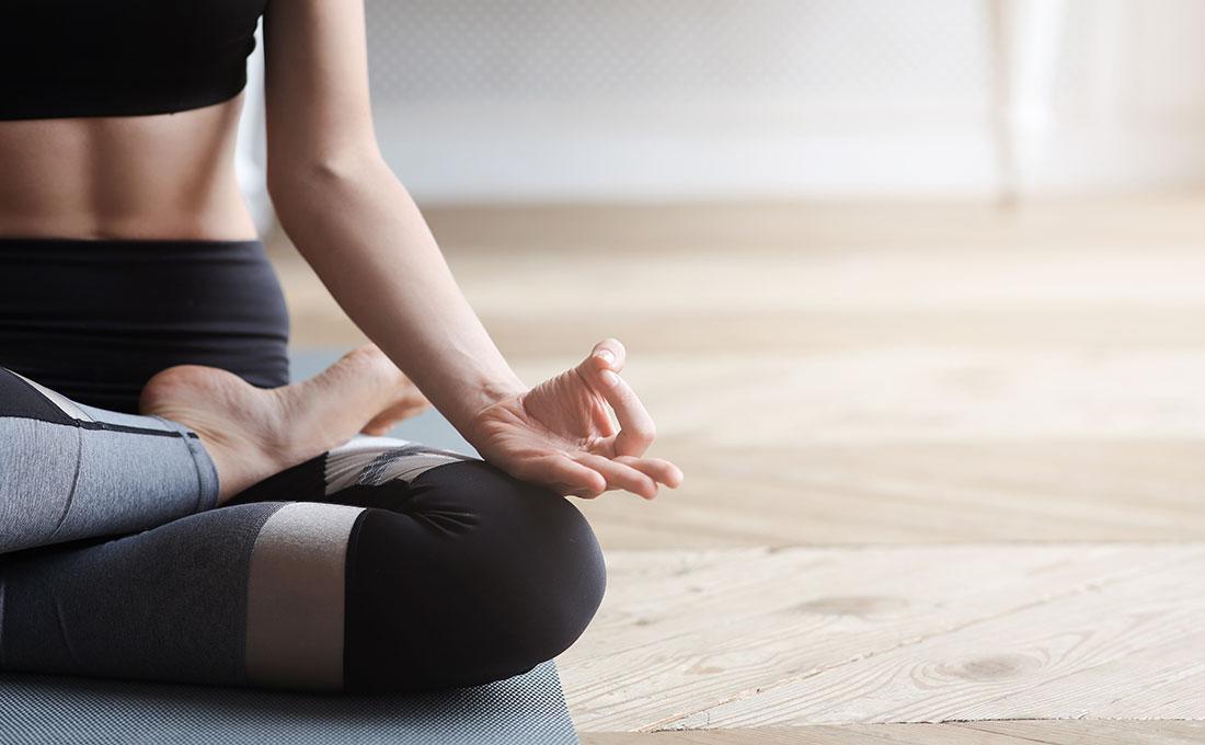 Ricreare in casa l'angolo perfetto per l'attività fisica e la meditazione