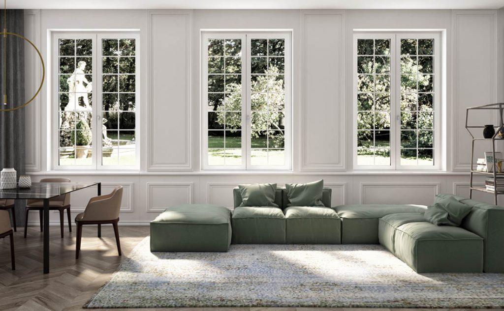 Evitare i furti in casa con le finestre Squareline di Oknoplast