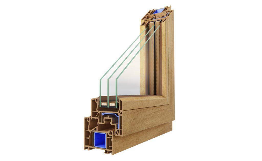 Dettaglio angolo finestra Prismatic per ricircolo d'aria in casa