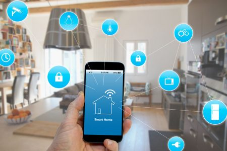 Smart Home con finestre di qualità