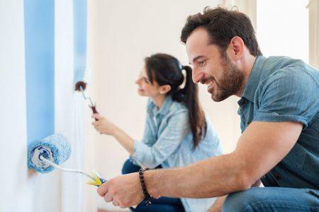 Qual è il momento migliore per tinteggiare le pareti di casa?