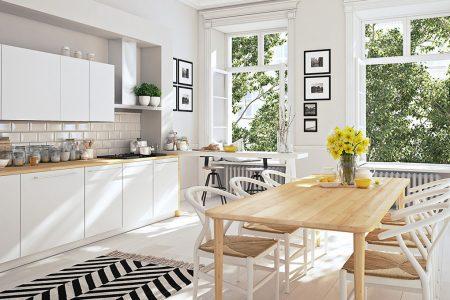 Stile cucina quale scegliere e come abbinare le finestre