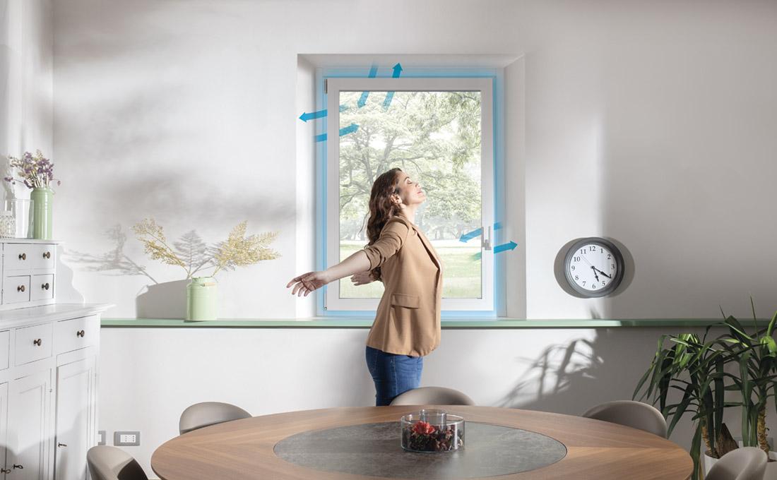 Cambiare aria in casa senza aprire le finestre