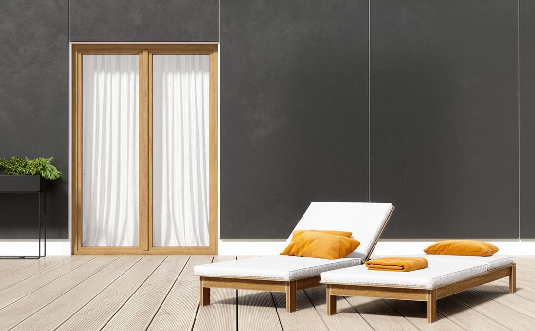 Come trasformare una finestra in porta finestra: vantaggi