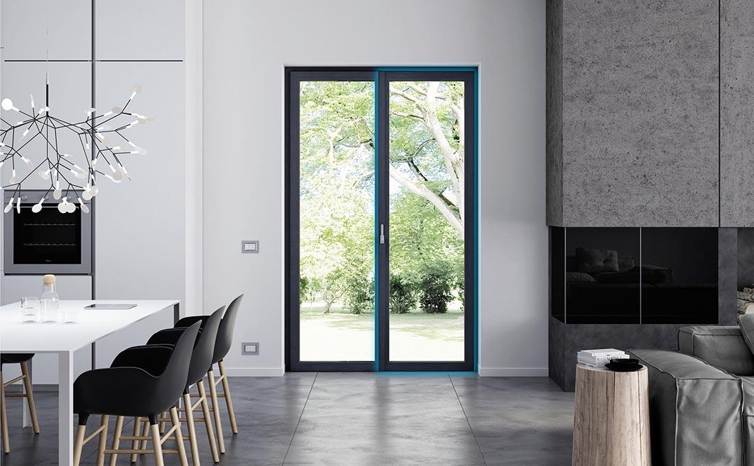Le migliori porte finestre per cucina - Prolux Evolution