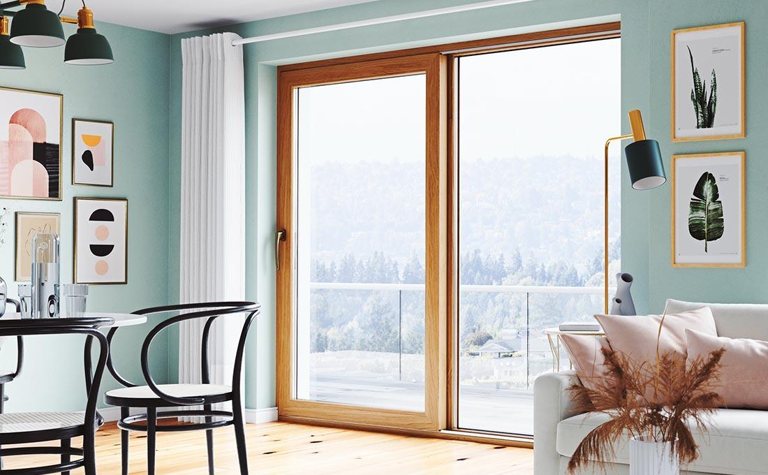 Motivi per scegliere finestre Oknoplast: disponibilità di ampia  gamma di colori