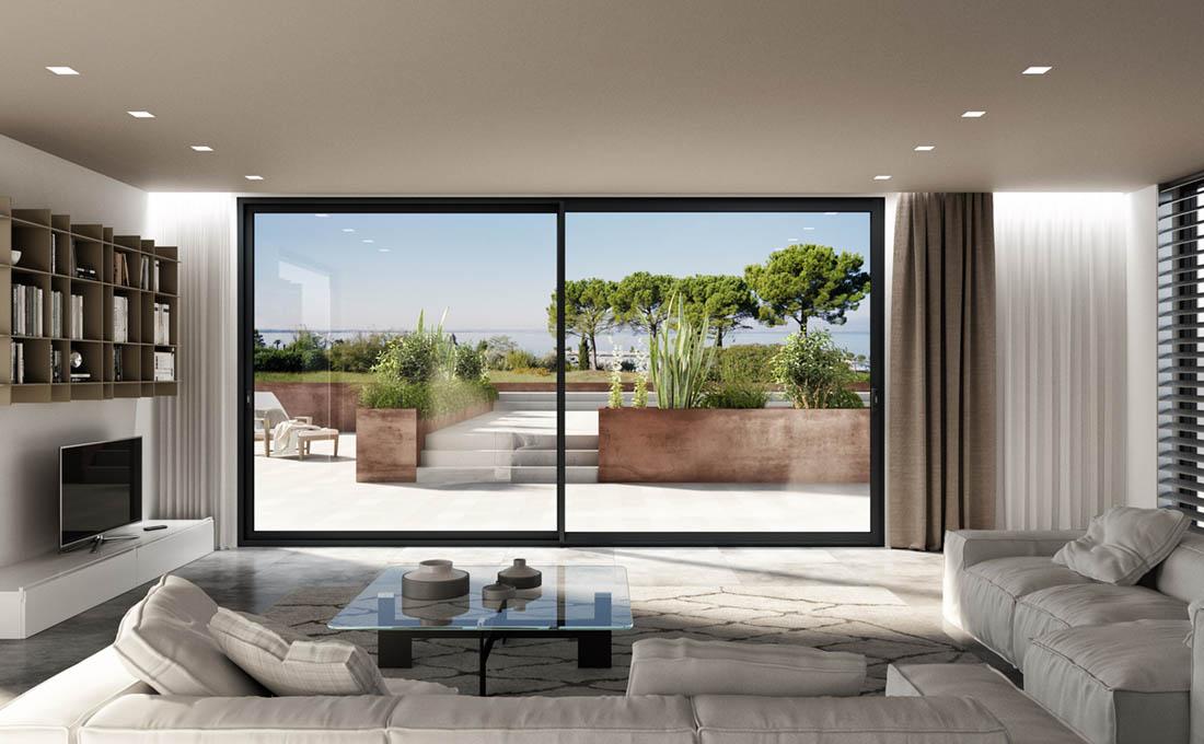 Quali porte finestre in alluminio sono più adatte per la tua casa?